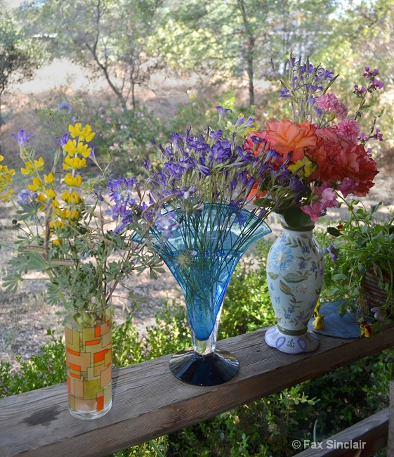 Vases on the Porch