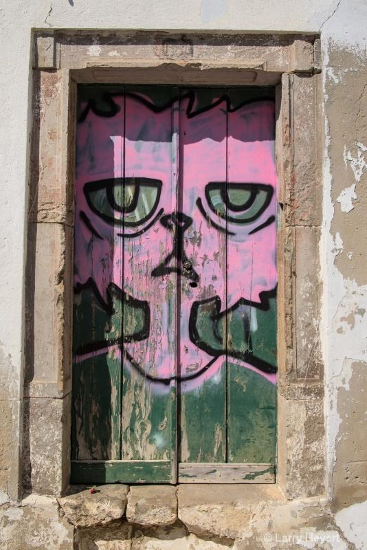 Old Door in Portugal
