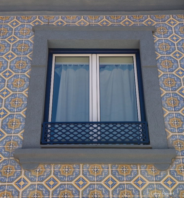 Window and Tiles in Portugal