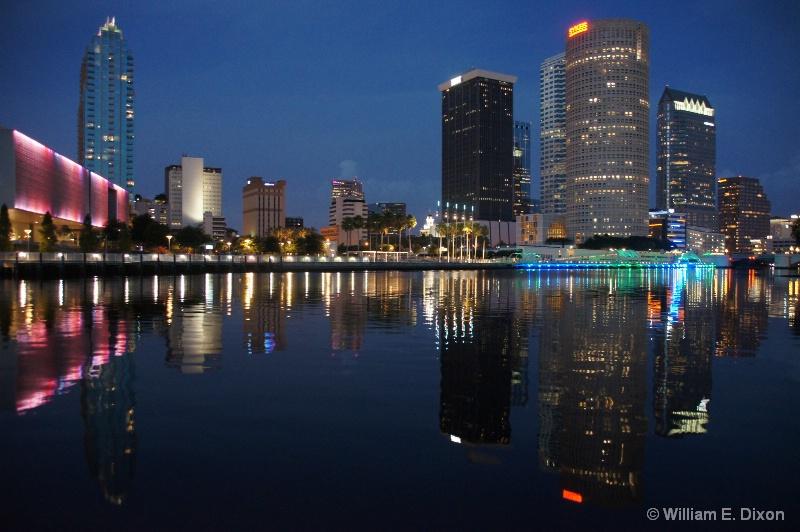 Dusk at Tampa