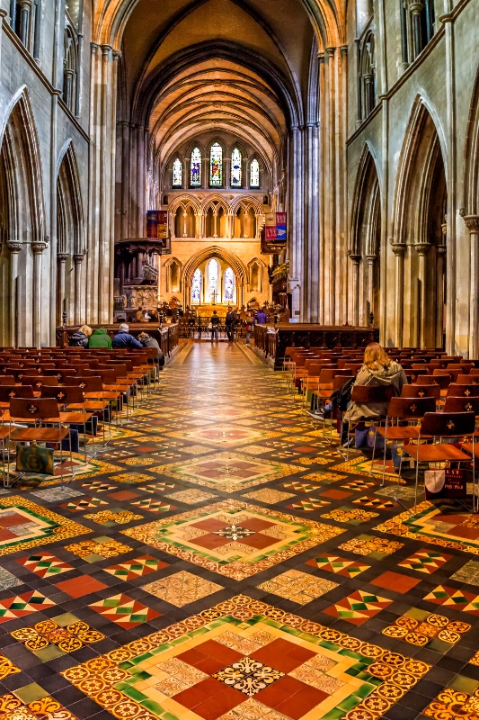 Christ Church Cathedral Floor  0813