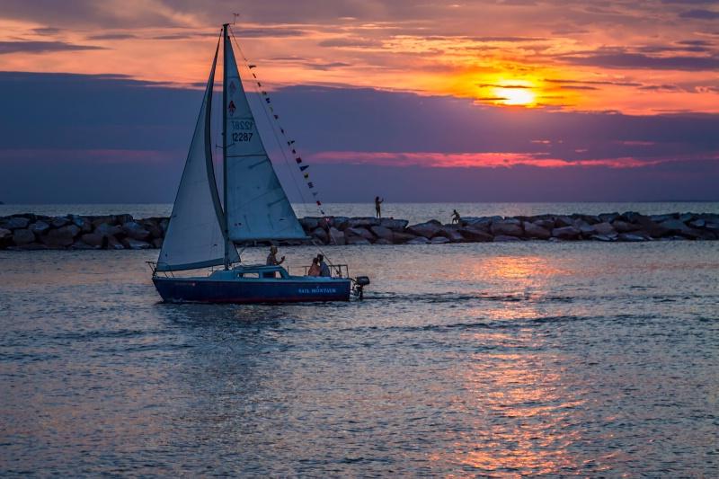 Sail Montauk Sunset  2196