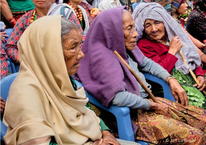 Village Elders, Bandipur, Nepal  #809