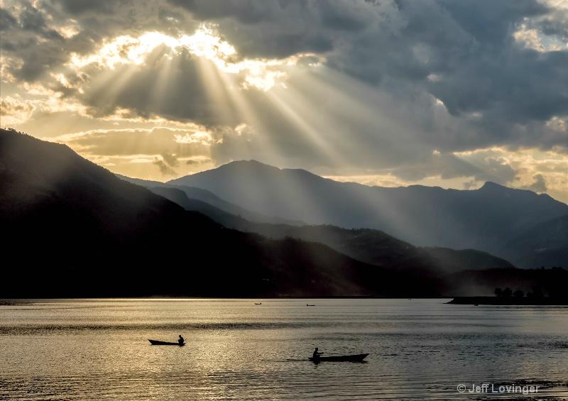 Pokhara Lake  #810
