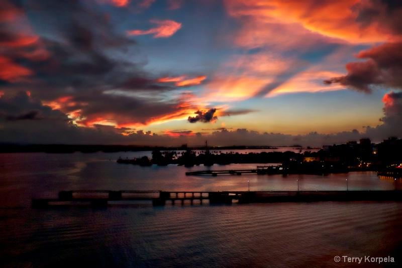 Sunset Puerto Rico