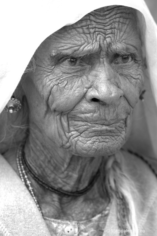 Aged Indian Lady