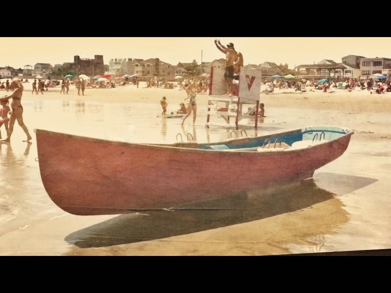 Ventnor Beach Patrol - vintage style