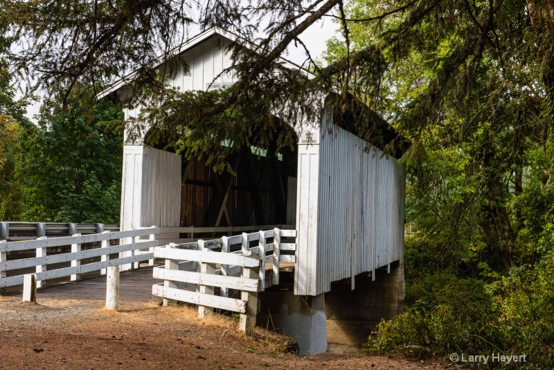Covered Bridge in Cottage Grove, Oregon