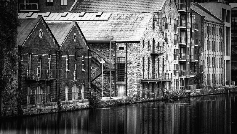Old Warehouses in Dublin