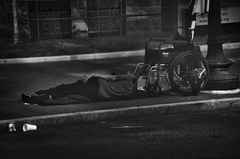 Homeless in DC