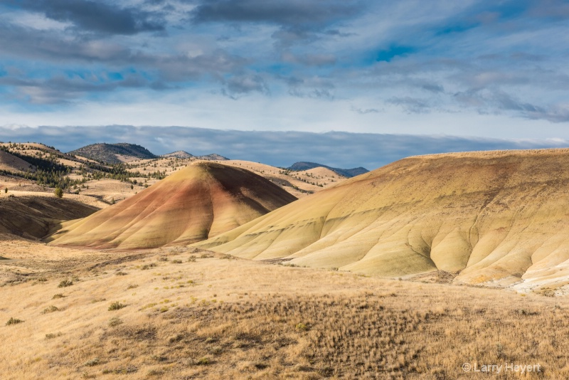 The Painted Hills of Oregon