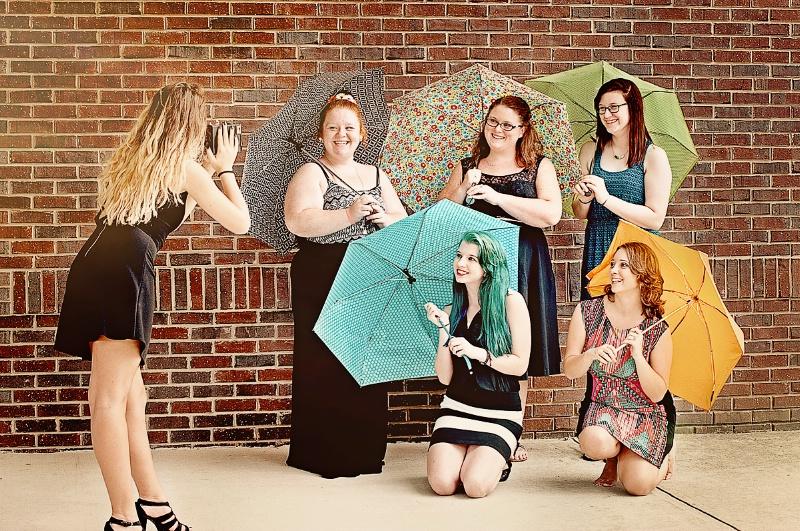 Umbrella Girls