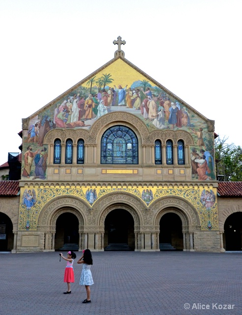 Happy Visitors @ Stanford Church