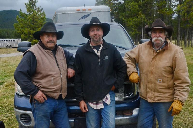 Larry Holman, Justin Newman, Terry Newman
