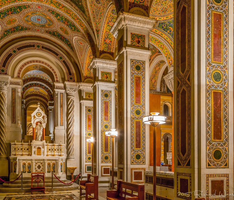 Side Room of the Cathedral Basilica of Saint Louis
