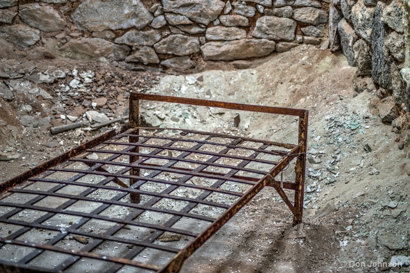 Old Prison Bed Frame 11-17-15 306-308