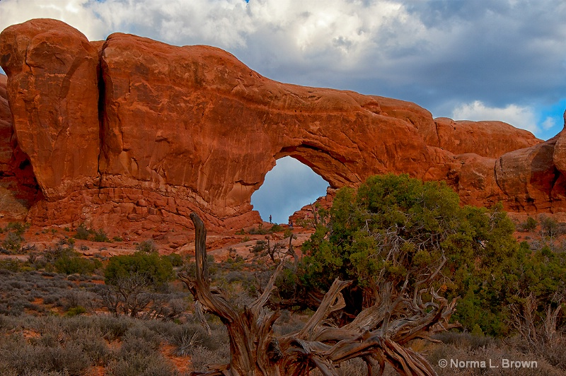 Hole in the Wall, Arches NP