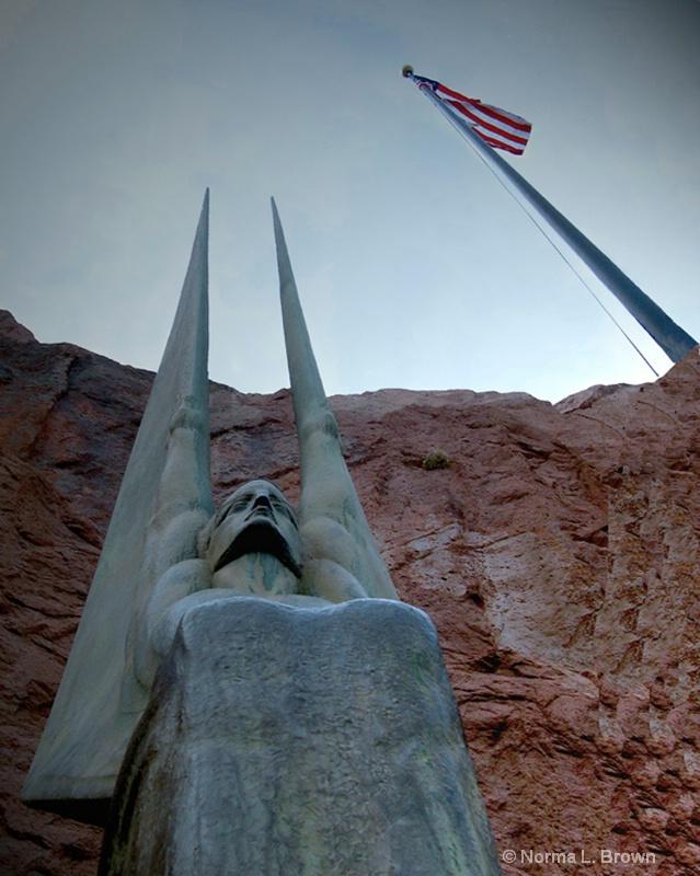 Hoover Dam Bronze