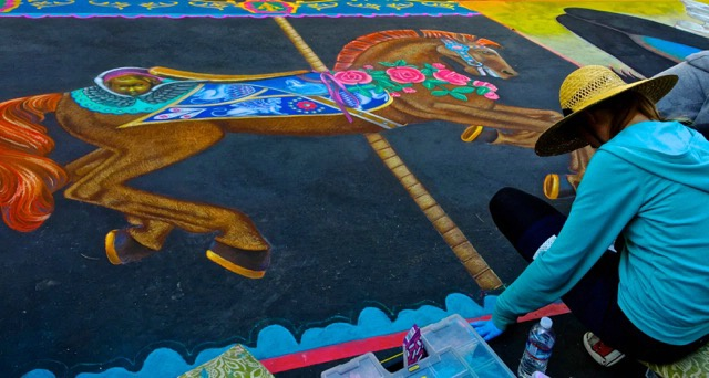 Palo Alto Street Artist