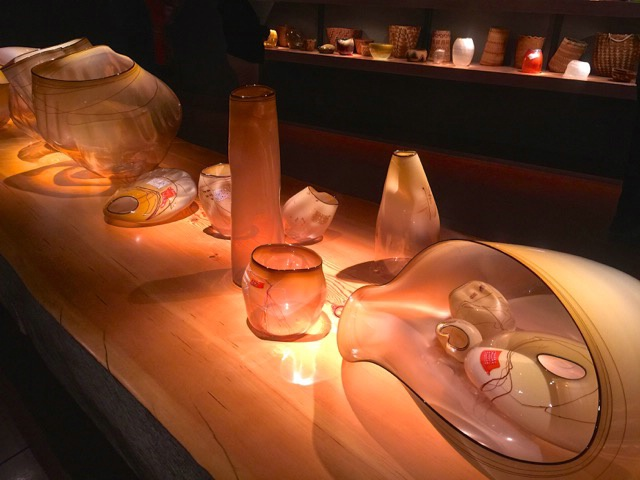 Earthtone Chihuly Glass