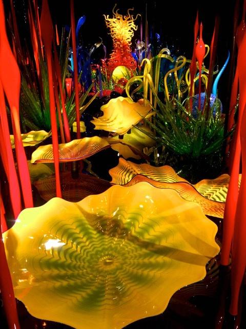 Amazing Chihuly Glass