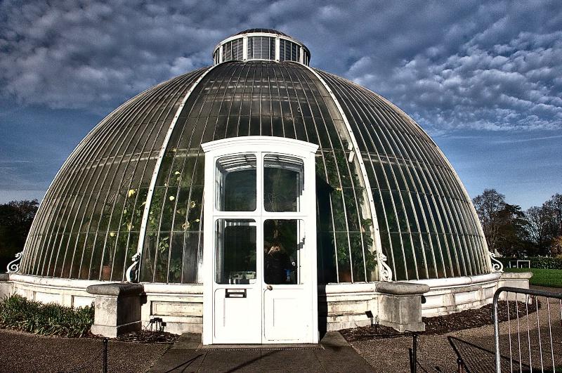 Kew Greenhouse Entrance
