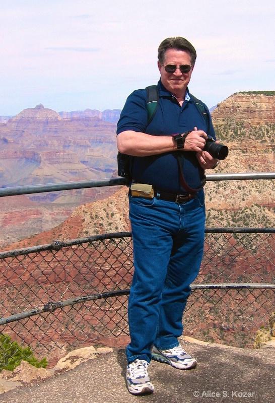 My Photo Buddy @ South Rim Grand Canyon
