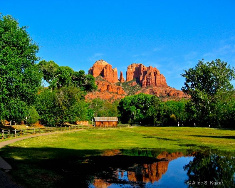 Sedona Red Rocks  in Arizona