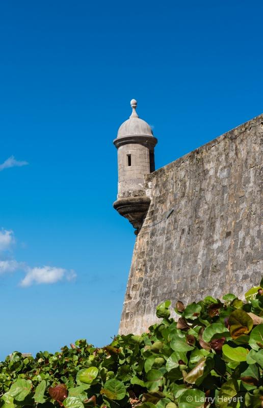 Castle in San Juan, Puerto Rico