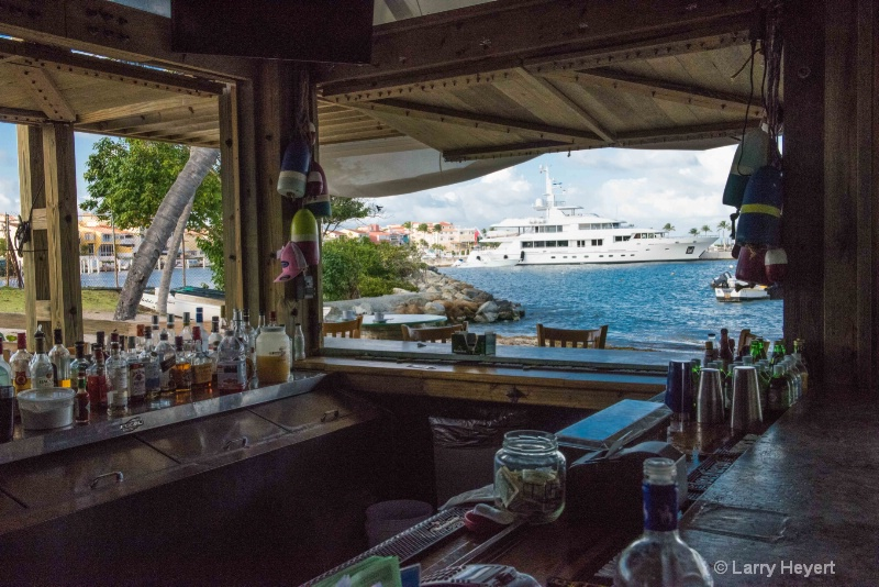 View from a Bar- Puerto Rico