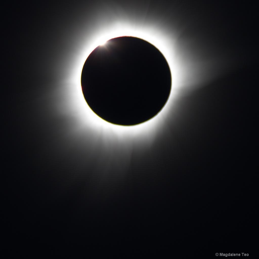 Diamond Ring shot of the Solar Eclipse