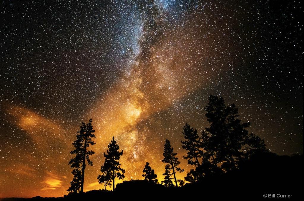 Fire in the Sky - Lake Tahoe Nevada