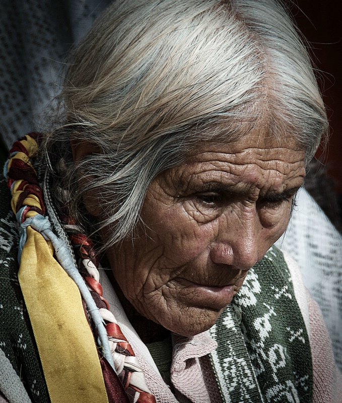 Old Mexican Lady in the Market