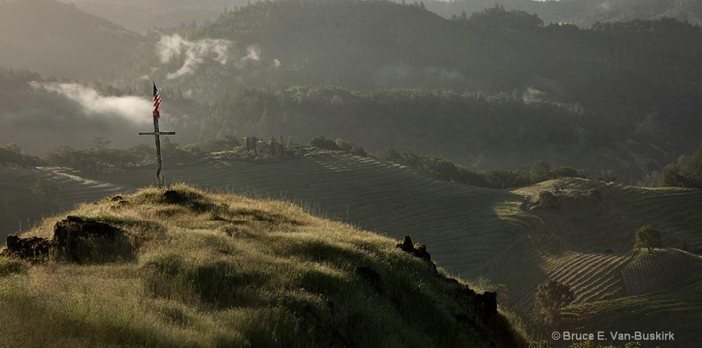 Take on Mt Saint Helena on the way to Napa Valley.
