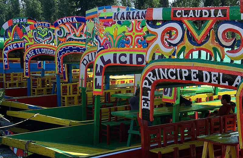 Colorfull Trajineras