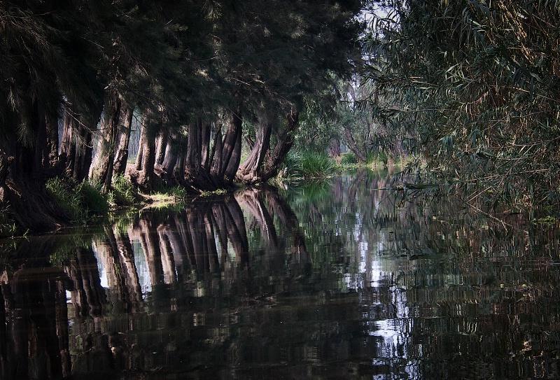 Xochimilco empty Canal
