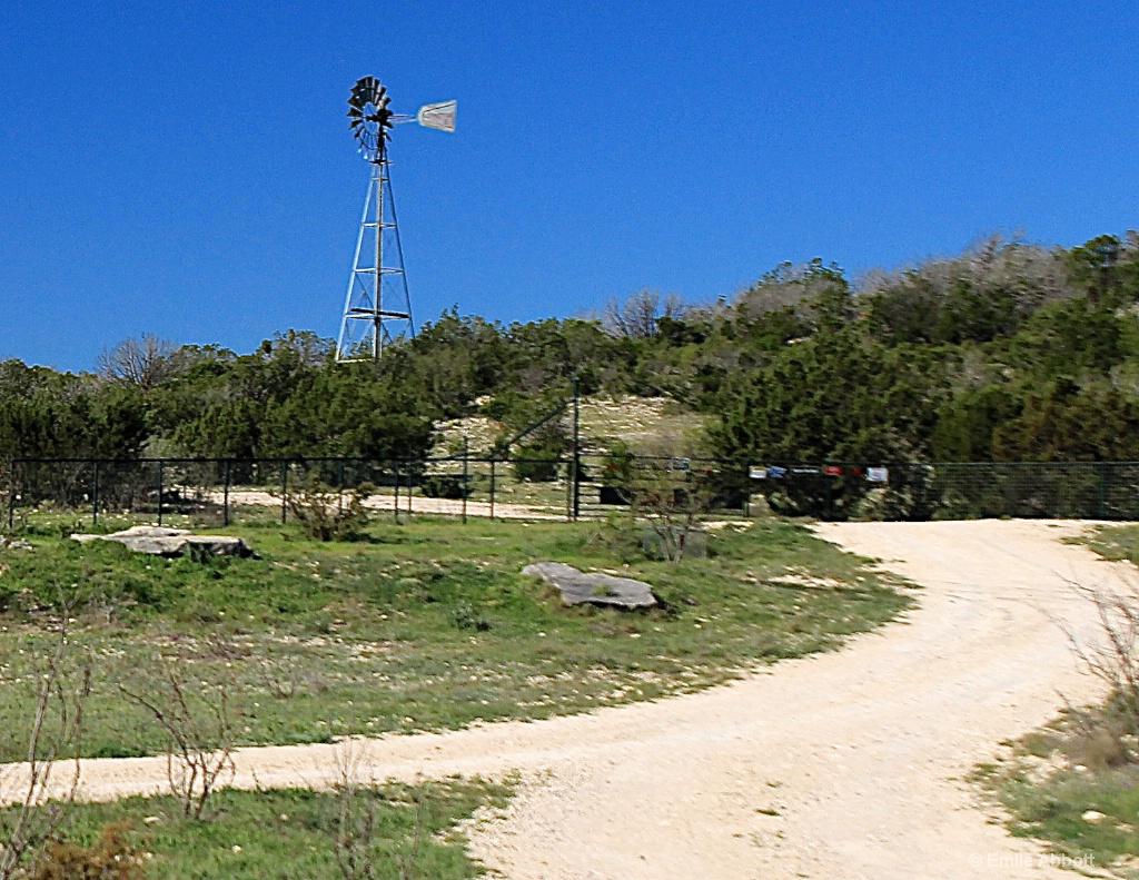 All Texas roads lead to windmills