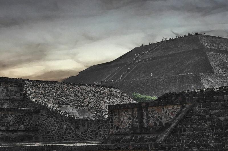 Teotihucan at Dawn