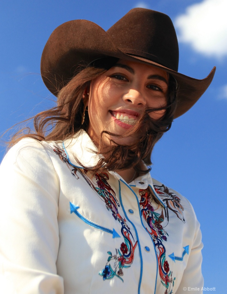 "Mariela Lopez ""Rotary Rodeo Queen"""