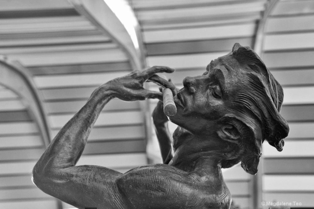 Sculpture in BnW