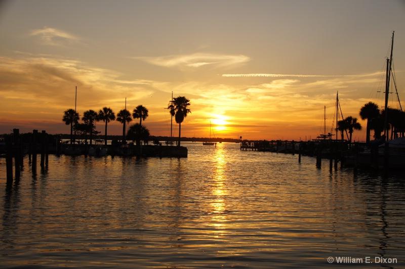 Dunedin Marina Sunset
