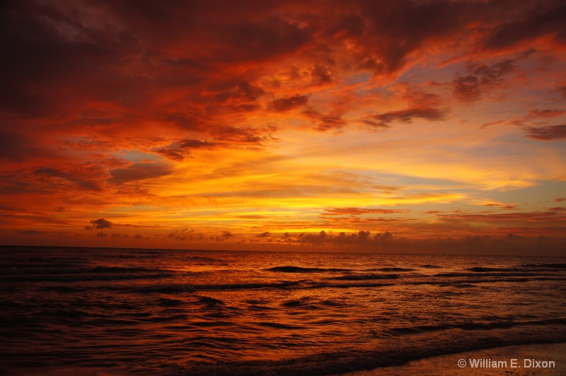 Beautiful  Sunset at Honeymoon Island, FL