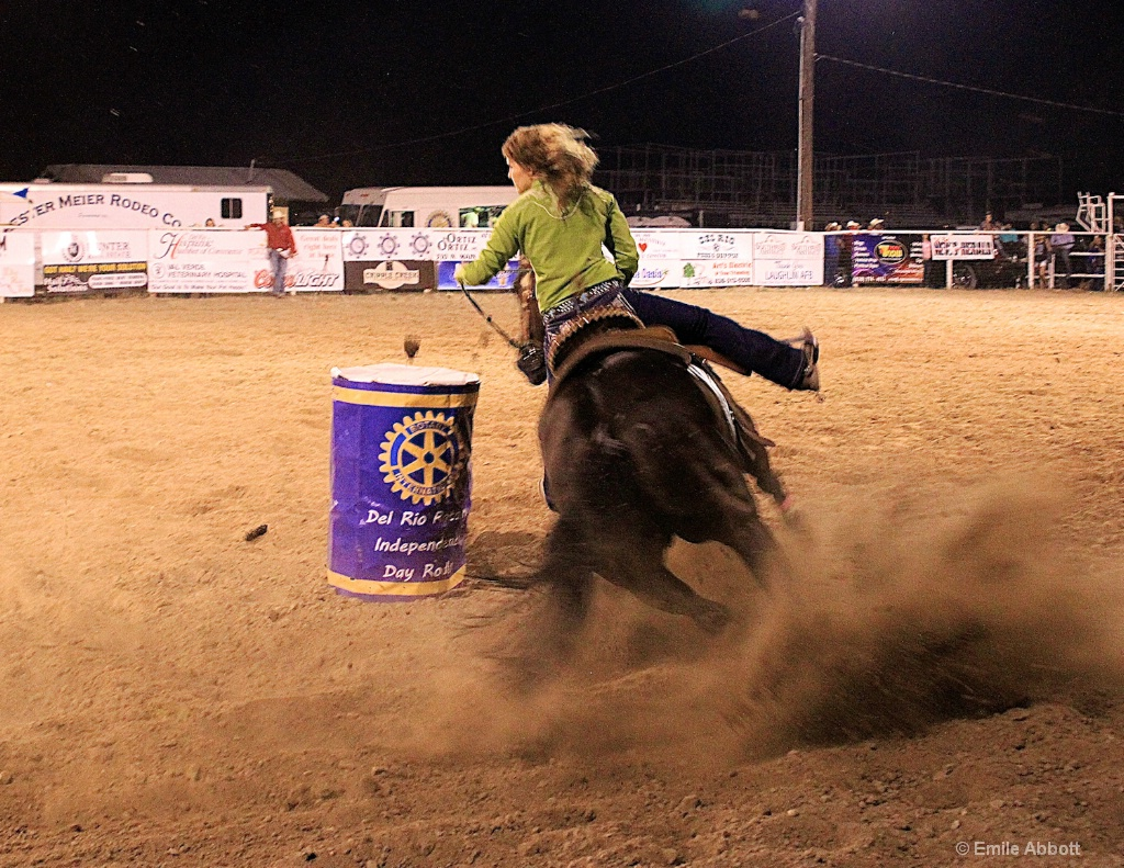 Ladies Barrel Racing