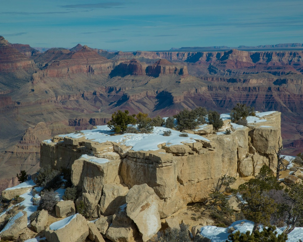 Snowy Grand Canyon