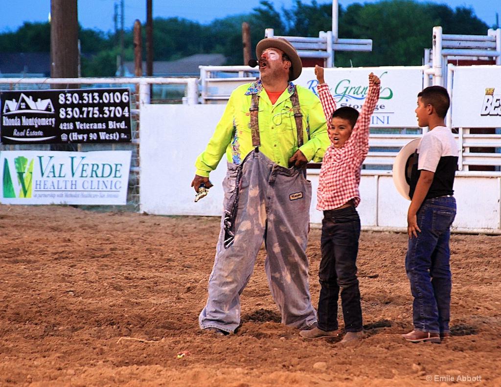 Jerry Garcia, winner Mutton Busting