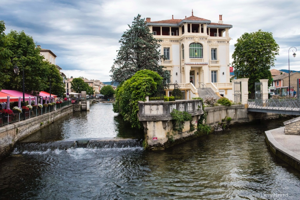 Isle-sur-la-Sorgue in France