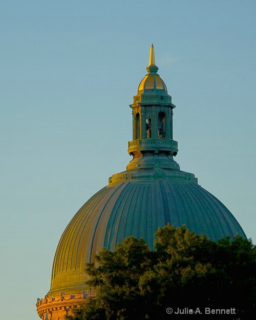 Naval Dome at Sunset-1