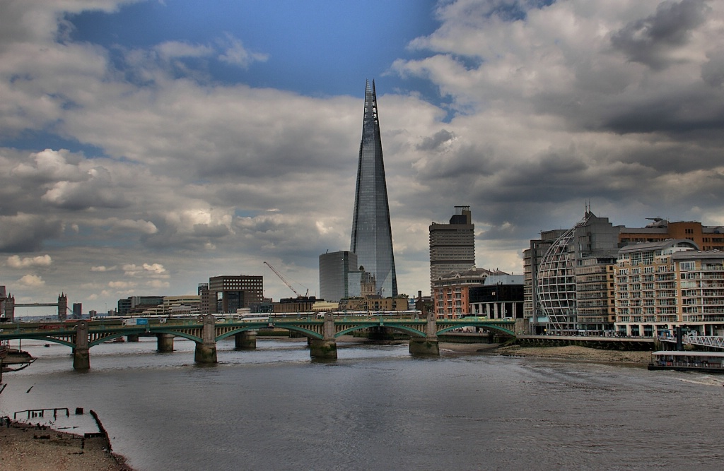Thames and the Shard