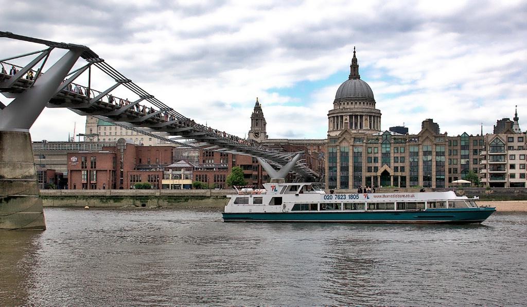 Thames Scene and Saint Paul