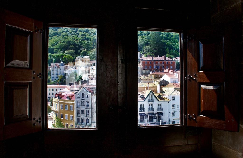 Sintra Though a Window 2